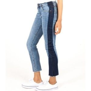 Kut from the Kloth Two Tone Denim Jeans Size 6